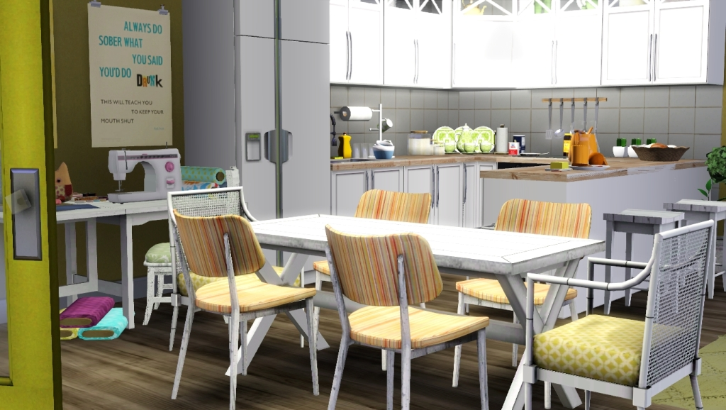 27 february 2011 casaslindas for Sims 3 dining room ideas
