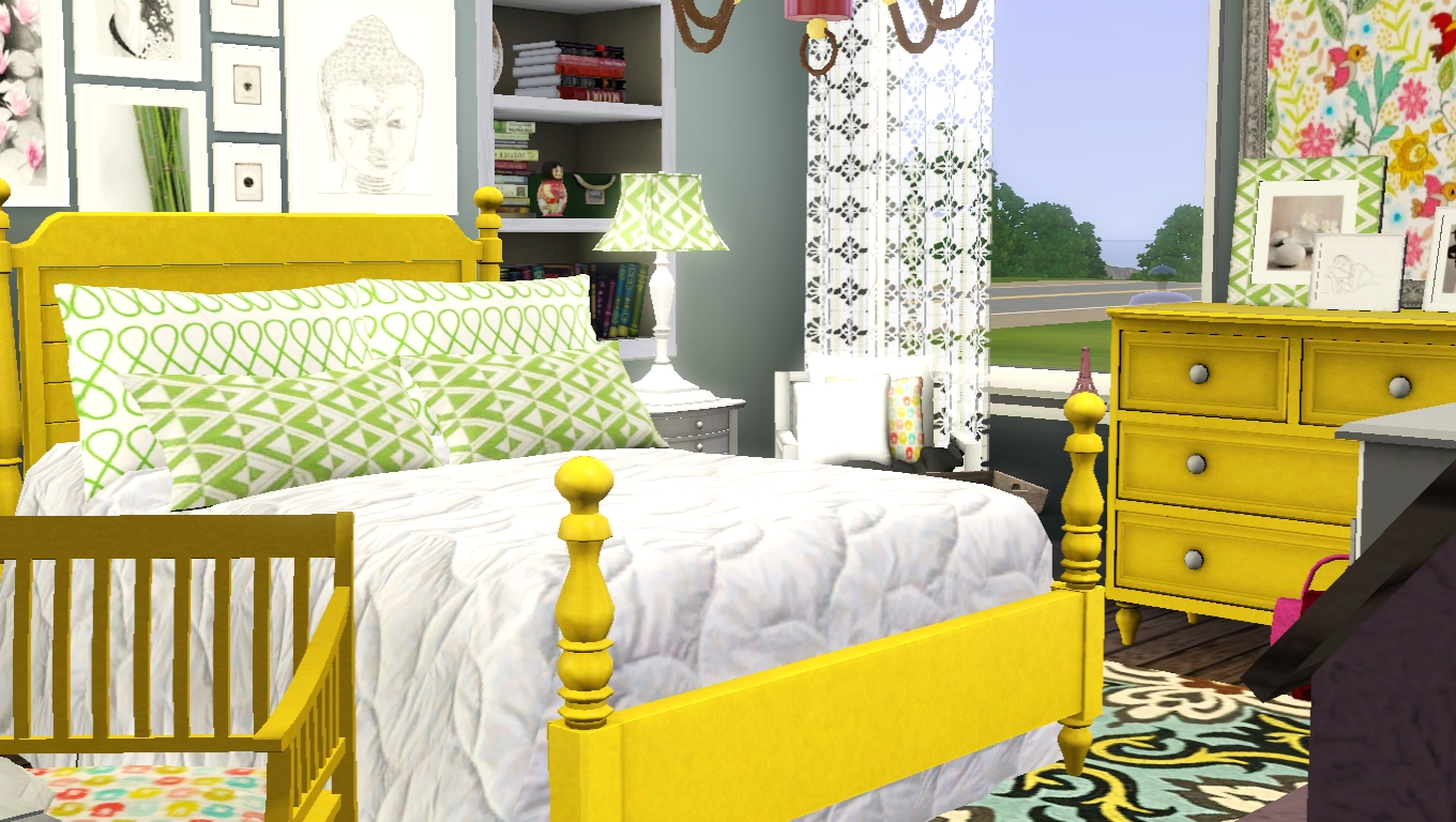New sims 3 bedroom casaslindas for 3 bedroom