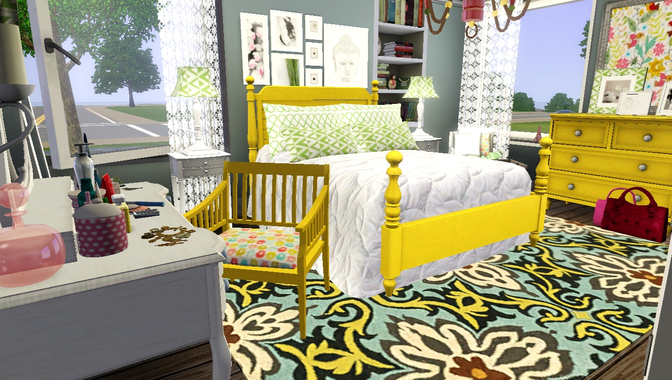 new sims 3 bedroom casaslindas