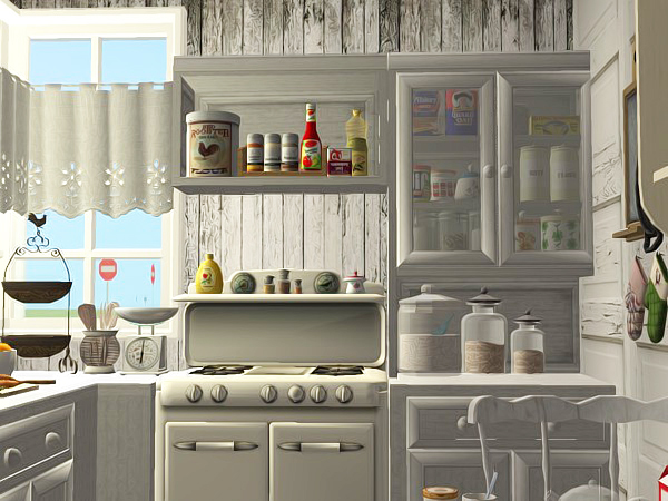 Cute country kitchen casaslindas for Cute country kitchen ideas