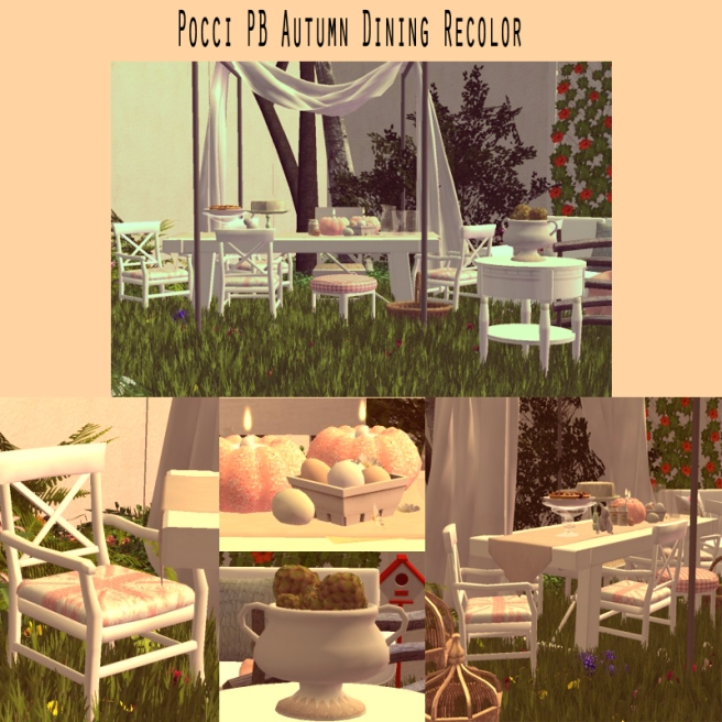 Pocci Autumn Dining Recolor