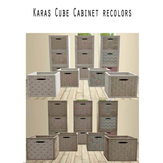 kara Cube Recolors