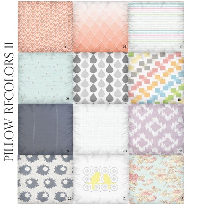 Pillow Recolor II
