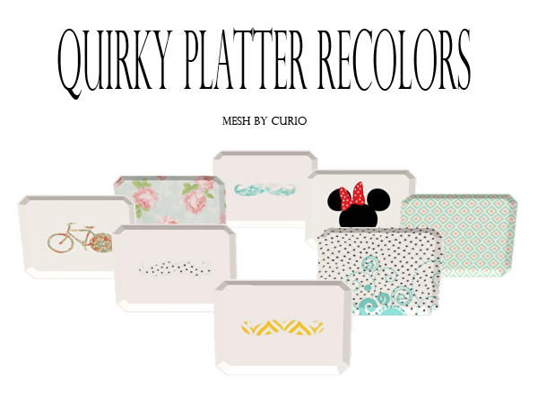 QuirkyPlatters