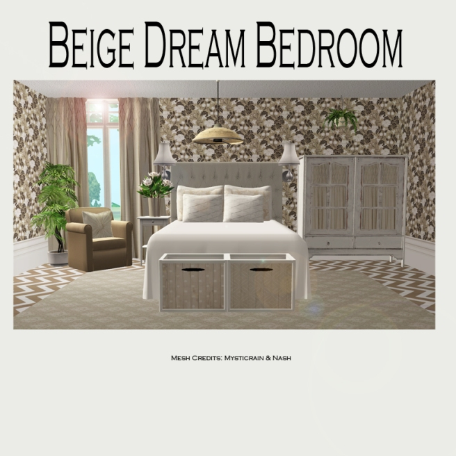 Beige Dream Bedroom