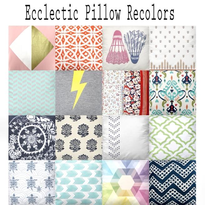 Ecclectic Pillows