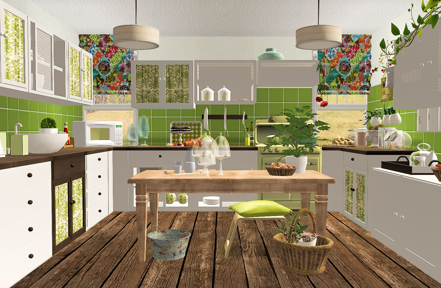 Sims Kitchen Steffor Joy Kitchen Recolor Casaslindas