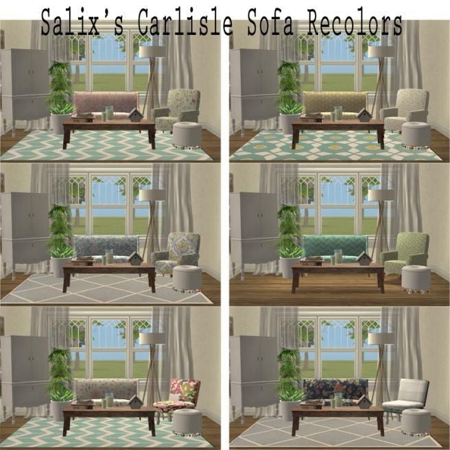 Salix Carlisle Sofa Recolors