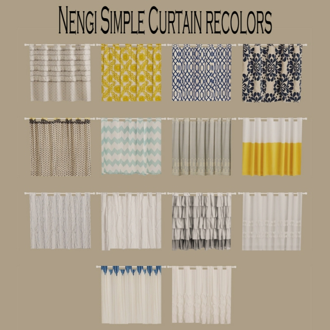 Nengi Simple Curtains